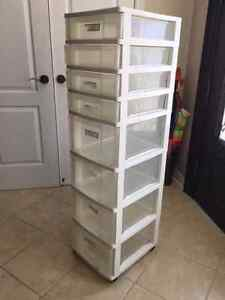 8 Drawer Storage Unit on Wheels - Made by Gracious Living