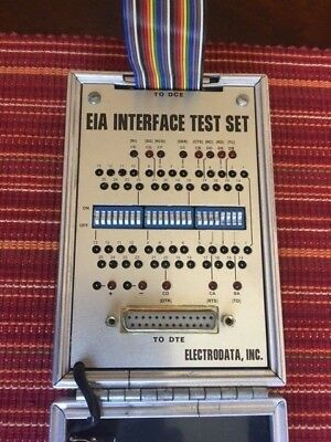 Eia Interface Test Set By Electrodata Inc Model Its 1 Used