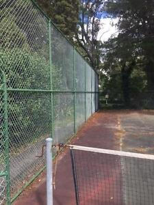 Tennis Court Fencing, Posts and net Bowral Bowral Area Preview