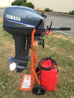 Yamaha 15F 2-Stroke short shaft outboard motor Middleton Alexandrina Area Preview