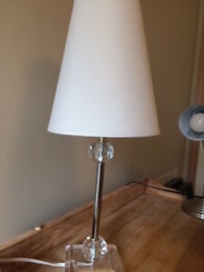 Lamp with glass ball accents - Home or Cottage