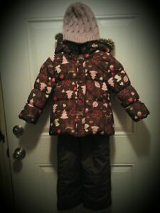 EUC Joe Girl's 2pc snow suit, boots