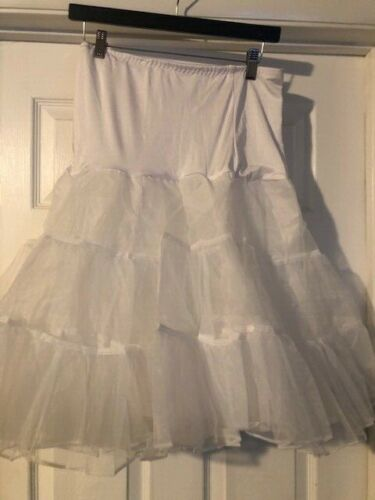 Crinoline Petticoat Slip Hoopless XL Adult