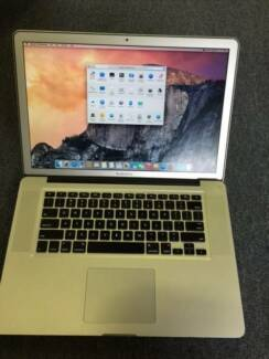 "Macbook Pro 15 / i7-2.4Ghz Quad Core / 8GB / 750GB / 15"" LED Hornsby Hornsby Area Preview"