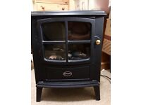 Traditional Electric Fireplace - Dimplex Brayford Optiflame Stove Black (BFD20N)