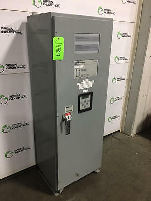 Used 400 Amp Asco Nats Non-automatic Transfer Switch 480 Volt J04ntsa30400n50f