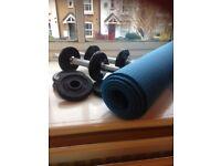 adjusttable free weights