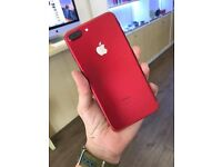 iPhone 7 Plus 128GB red as new