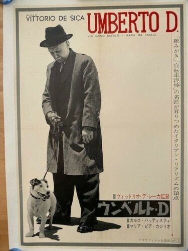 Umberto D - 1952-  De Sica Masterpiece! - Very Rare!