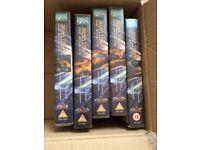 Star Trek VHS Videos Star Trek .Buffy and Angel box sets