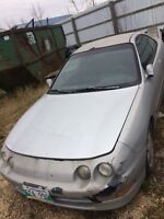 ACURA INTEGRA PARTS CAR PARTING OUT Winnipeg Manitoba Preview