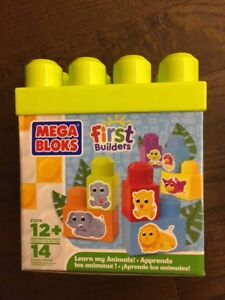 MEGA BLOKS - First Builders - Learn my Animals