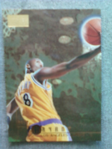 Mint 1996-97 Skybox Premium Kobe Bryant rookie basketball card