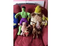 Collection of soft toys for sale £10 ono