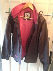 Ladies Lazy Jacks weatherproof jacket, Size 14