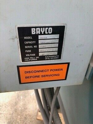 Bayco Burnout Oven Model Bb-12
