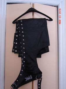 Mens Large Motorcycle Chaps