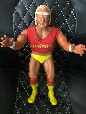 """WWE WWF VINTAGE 1985 LJN HULK HOGAN 16""""POSEABLE WRESTLING FIGURE HULKAMANIA"""