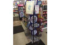 48 Pocket Shop / Retail Display Rotating Greeting Card Postcard Floor Stand