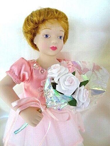 "Avon Porcelain Doll: Childhood Dreams ""Ballet Recital"" Ballerina - Pink Tutu NIB"
