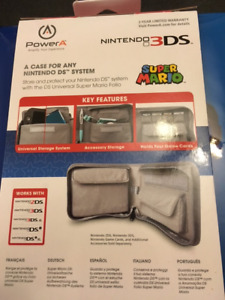 Nintendo 3DS Universal Super Mario Carrying Case (Folio)