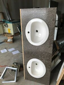 2 pieces of Countertop with Sinks. Brand New!!!