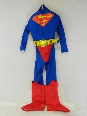 Warner Bros Superman Boys Size 7-8 One-Piece Halloween Costume With LED - Costumes With Led Lights
