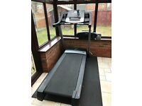 Nordic Track T12.2 Treadmill running machine in excellent condition, ideal for winter running.