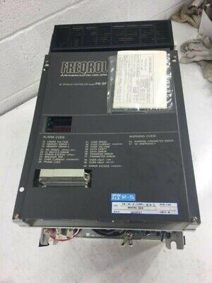 Mitsubishi Freqrol Ac Spindle Drive Fr-sf-2-11kp Bn624a960g53b Used Warranty