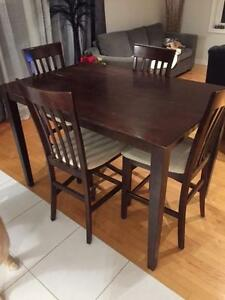 Bistro / Counter Height Kitchen Table Set