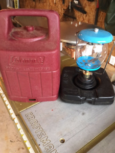 Coleman Propane Lantern and Carrying Case