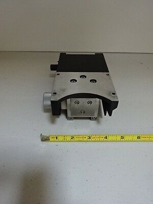 Microscope Part Leica Reichert Polyvar Holder Stage Optics As Is Tc-1-b