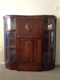 Antique Display Cabinet Waverton North Sydney Area Preview