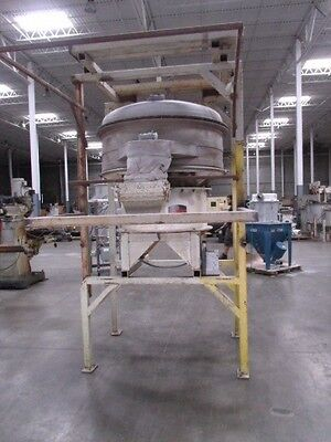 Kason Vibroscreen Circular Vibratory Screener Classifier Separator - K48-1bt-ss