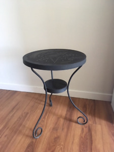 Outdoor small patio table