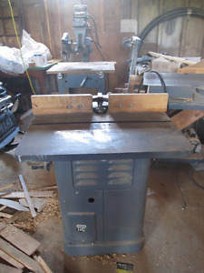 Rockwell shaper and radial arm saw
