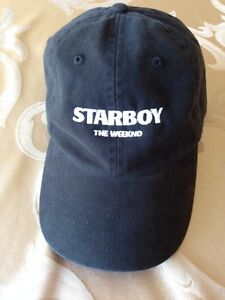 Starboy The Weeknd Cap 100% AUTHENTIC