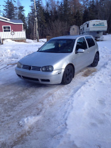 2001 Volkswagen Golf silver Coupe (2 door)