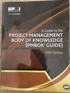 PMBOK Fifth Edition Like New.
