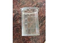 Magimix Food Pusher Clear Fits In Food Processor Lid 17221