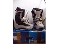 Northwave Snowboard Boots X Type Step Ins UK7 Brand New Retail £180+ Optional Bindings