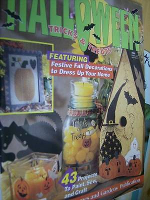 Halloween Tricks & Treats Craft 1997 Magazine-43 Projects- Most Shown ()