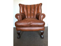Leather Arm Chair, Luxury Chair by Barker & Stonehouse