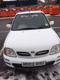 Nissan Micra - Low miles. Excellent condition
