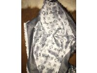 Luxury Louis Vuitton Charcoal colour Scarf /Shawl – brand new