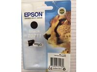 Epson - Two Black Ink Cartridges T0711 for Sale with long expiry date