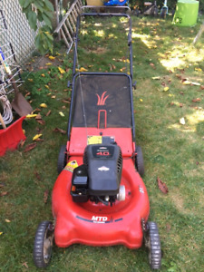WORKING Lawnmower for repair or for parts