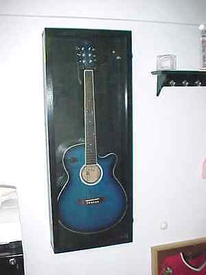 Guitar Display Case Acoustic Electric Guitar