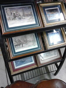 PETER ROBSON SIGNED & FRAMED PRINTS - Numbered London Ontario image 1