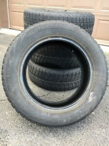 4 Winter Tires-Bridgestone BlizzakWS60 205/60R15 91R